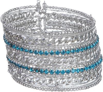 DCA Steel Black Silver Bracelet