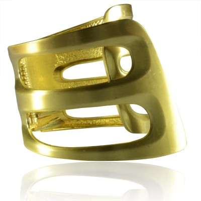 Colors of Sin Metal Yellow Gold Bracelet
