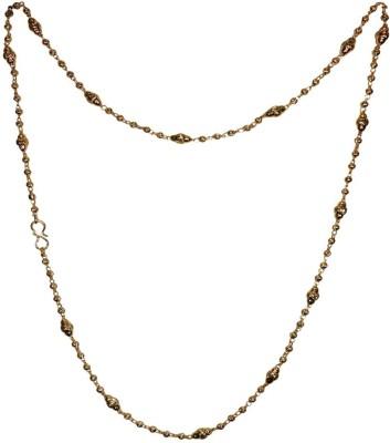Anjan 22K Yellow Gold Plated Brass Chain