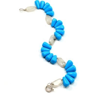 Silvesto India Stone Turquoise Bracelet
