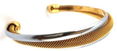 Seeyara Brass 22K Yellow Gold Cuff