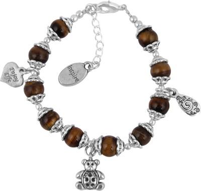 Pearlz Ocean Alloy Crystal Charm Bracelet