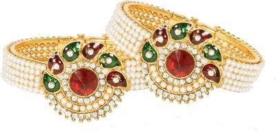 Penny Jewels Alloy Cubic Zirconia Brass Kada