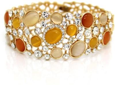 Eternz Brass Yellow Gold Bracelet