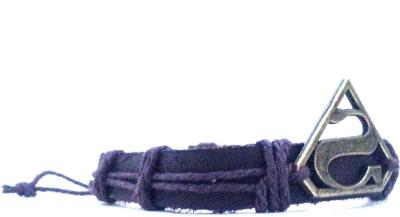 Jocular Leather Bracelet