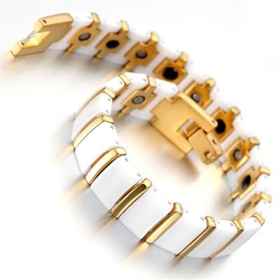 Magic Stones Brass Yellow Gold Bracelet