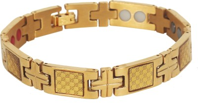 Handluv Stainless Steel Yellow Gold Bracelet