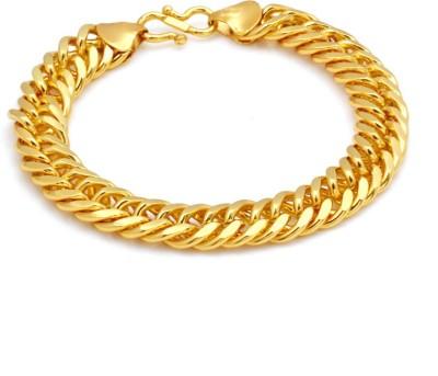 Paul Chains Alloy 9K Yellow Gold Bracelet