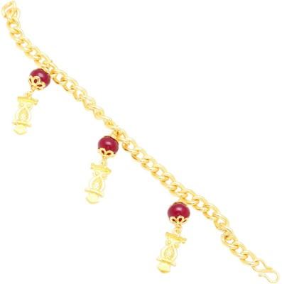 Ijuels Brass 18K Yellow Gold Bracelet
