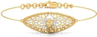 BlueStone Siddhivinayak Yellow Gold 18kt Diamond Bracelet
