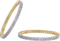 Prisha Collections Alloy Yellow Gold Bangle Set(Pack of 2) best price on Flipkart @ Rs. 1029