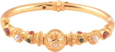 Ganapathy Gems Copper Yellow Gold Kada