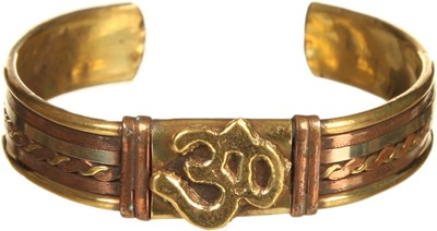 DCA Brass Yellow Gold, Copper Bracelet