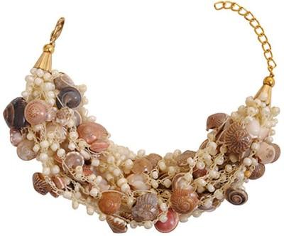 Kenway Retail Glass Brass Bracelet