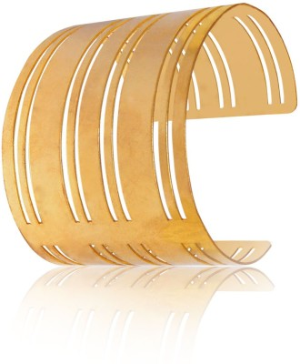Camy Alloy, Brass 18K Yellow Gold Cuff