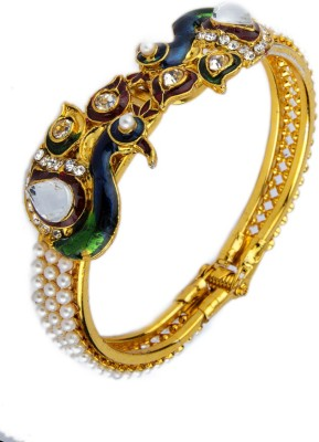 Adhira Alloy Yellow Gold Kada