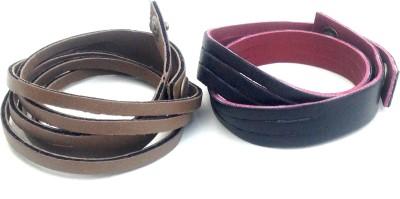 Jocular Leather Bracelet Set