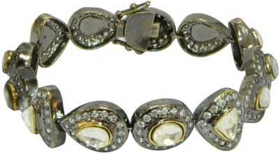 Peora Brass Tennis Bracelet