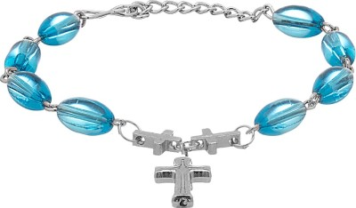 Voylla Alloy Silver Bracelet