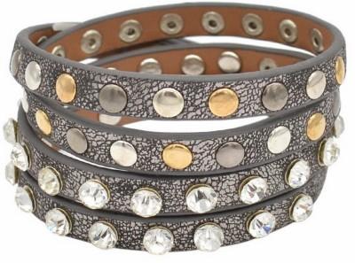 Brand Me Up Leather Bracelet
