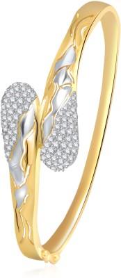 Meenaz Alloy Cubic Zirconia Brass Kada