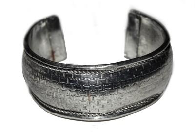 Trisha Alloy Silver Bracelet