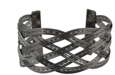 High Trendz Alloy Silver Cuff