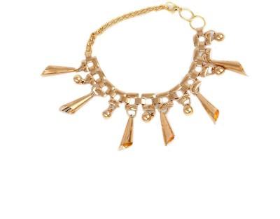 Addiction Fashion Alloy Rose Gold Charm Bracelet