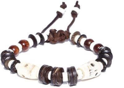 ToniQ Leather, Wood Bracelet