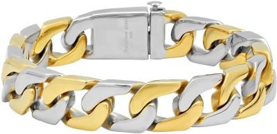 Anvi Jewellers Brass Rhodium Bracelet