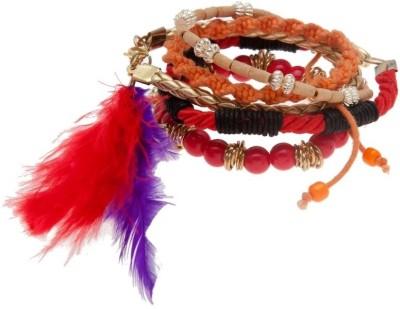 Blueberry Leather Bracelet Set
