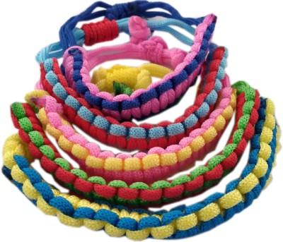JohriBazar Cotton Dori Bracelet Set
