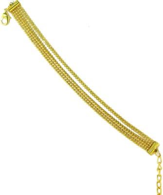 Zaveri Pearls Zinc 18K Yellow Gold Bracelet at flipkart