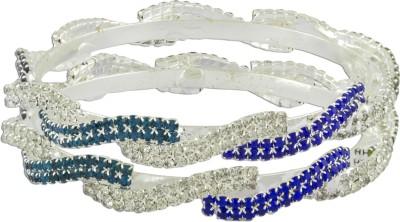 R18Jewels-Fashion&U Metal Crystal Bangle Set