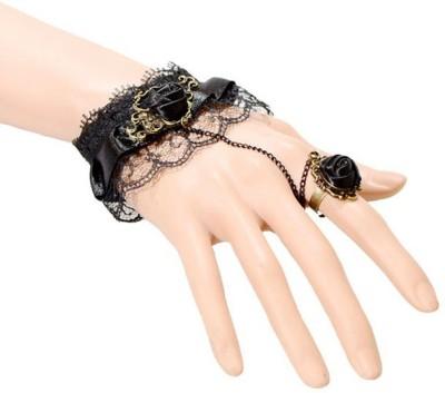 French Aura Alloy Ring Bracelet