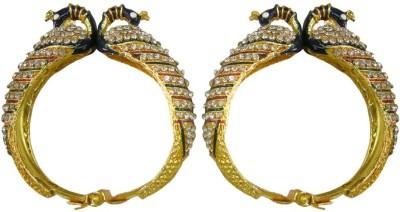 J S Imitation Jewellery Brass 14K Yellow Gold Kada