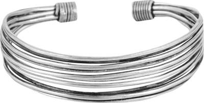 Beadworks Brass Silver Kada