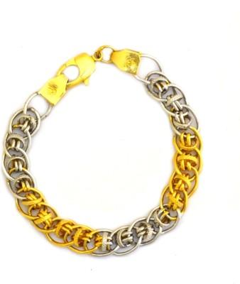 Dilan Jewels Alloy Yellow Gold, Silver Bracelet