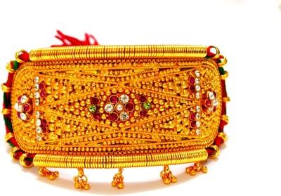Prakash Jewellers Stone Jade 22K Yellow Gold Armlet