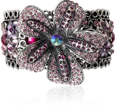 Svvelte Alloy Swarovski Crystal Bracelet