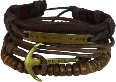 Ammvi Creations Leather Bracelet