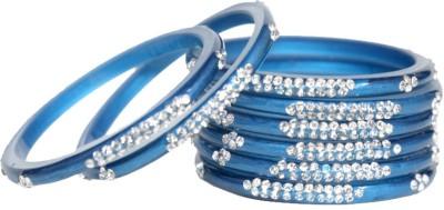 TrendyMetals Plastic Zircon Enamel Bangle
