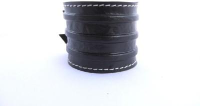 the jewelbox Leather Cubic Zirconia Bracelet