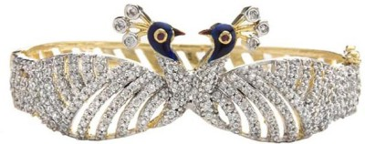 Jewels Gehna Alloy Cubic Zirconia Brass Kada at flipkart