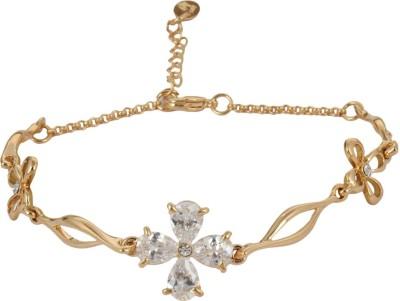 SNYTER Alloy Crystal Rhodium Bracelet