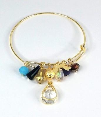Gurjari Brass Ring Bracelet