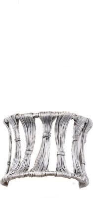 Payalwala Brass Silver Cuff