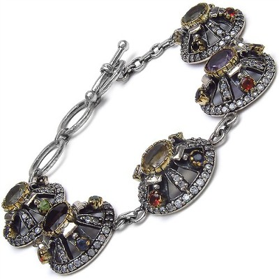 Johareez Fashion Copper Topaz Bracelet