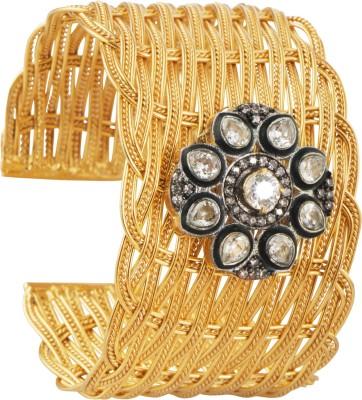 Mehtaphor Brass Cuff