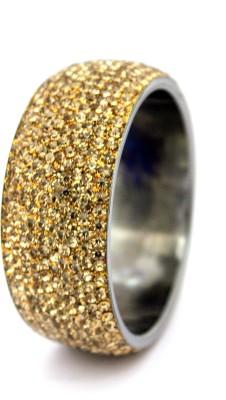 Hyderabad Bangles Lac Crystal Brass Bangle